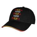 CYRILLIC GRADATION STRAP BACK CAP (BLACK/MAW193238)