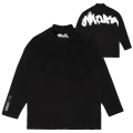 GRAFF MOCK-NECK L/S TEE (BLACK/MAW200002BLK)