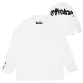 GRAFF MOCK-NECK L/S TEE (WHITE/MAW200002WHT)
