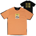 K.W BI-COLOR TEE (S.ORANGE/MAW200004ORG)