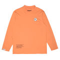 K.W MOCK-NECK L/S TEE (S.ORANGE/MAW200074ORG)
