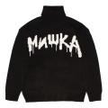 K.W TURTLE-NECK SWEATER (BLACK/MAW200377BLK)
