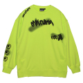 GRAFF SLIT CREWNECK SWEAT (S.GREEN/MAW200423GRN)