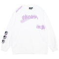 GRAFF SLIT CREWNECK SWEAT (WHITE/MAW200423WHT)