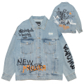 GRAFF OVERSIZED DENIM JACKET (L.INDIGO/MAW200511)