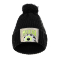 KEEP WATCH POMPOM BEANIE (BLACK/MAW203224BLK)