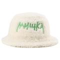 TOXIC CYRILLIC POLAR FLEECE BUCKET HAT (M.WHITE/MAW203227WHT)