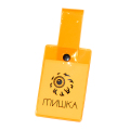 MISHKA TRAVEL NAME TAG (N.ORANGE/MKNYCKT001ORG)
