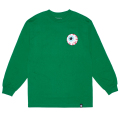 MISHKA BASIC: KEEP WATCH L/S TEE (GREEN/MSKBC1LGRN)
