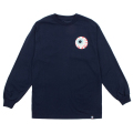 MISHKA BASIC: KEEP WATCH L/S TEE (NAVY/MSKBC1LNVY)