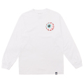 MISHKA BASIC: KEEP WATCH L/S TEE (WHITE/MSKBC1LWHT)