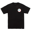 MISHKA BASIC: KEEP WATCH TEE (BLACK/MSKBC1TBLK)
