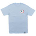 MISHKA BASIC: KEEP WATCH TEE (P.BLUE/MSKBC1TBLU)