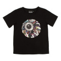 NEON KEEP WATCH  T-SHIRT [KIDS] (BLACK/MSS170004BBLK)