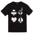 CARDS T-SHIRT (BLACK/MSS170027BLK)
