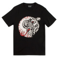 LAMOUR SPLIT ICONS T-SHIRT (BLACK/MSS170055BLK)