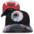 ELECTRICAL KEEP WATCH BENT VISOR SNAPBACK CAP (ACC/MSS173224)