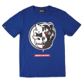 SPLIT ICON TEE (BLUE/MSS180009BLU)