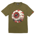 MONSTER KEEP WATCH TEE (OLIVE/MSS180030OLV)