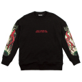 KEEP WATCH TORPEDO CREWNECK (BLACK/MSS180406BLK)