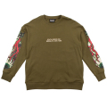 KEEP WATCH TORPEDO CREWNECK (OLIVE/MSS180406OLV)
