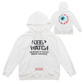 KEEP WATCH HOODIE (WHITE/MSS180455WHT)