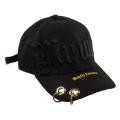MISHKA BIG LOGO CAP (BLACK/MSS183226)