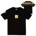 MISHKA SHOULDERS LOGO TEE (BLACK/MSS190001BLK)