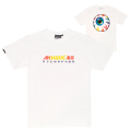 RAINBOW KEEP WATCH TEE (WHITE/MSS190007WHT)