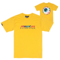 RAINBOW KEEP WATCH TEE (YELLOW/MSS190007YLW)