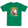 DESTROY APPLE FRESHNESS TEE (GREEN/MSS190080GRN)
