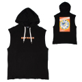 KEEP WATCH CHALLENGE HOODED VEST (BLACK/MSS190101)