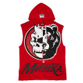 SIMON ADDERS HOODED VEST (RED/MSS190102)