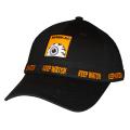 KEEP WATCH RACING STRAPBACK CAP (BLACK/MSS193201BLK)