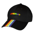 OVER THE RAINBOW STRAPBACK CAP (BLACK/MSS193203BLK)