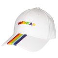 OVER THE RAINBOW STRAPBACK CAP (WHITE/MSS193203WHT)