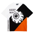 3-TONED K.W TEE (ORANGE/MSS200005ORG)