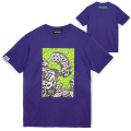 MARK DEAN VECA MONSTER GRAPHIC TEE (PURPLE/MSS200087PPL)