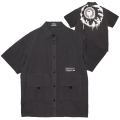 K.W S/S WORK SHIRTS (CHARCOAL/MSS200220)