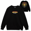 WEIRD WORLD D.A CREWNECK (BLACK/MSS200401BLK)