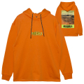 CROP CIRCLE HOODIE (ORANGE/MSS200406ORG)