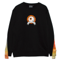 THERMOGRAPHY K.W CREWNECK (BLACK/MSS200414BLK)