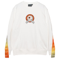 THERMOGRAPHY K.W CREWNECK (WHITE/MSS200414WHT)