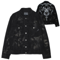 BLACK BLEACH D.A DENIM JACKET (MSS200510)