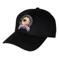 K.W CIRCLE LOGO STRAPBACK CAP (BLACK/MSS203204BLK)