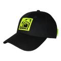 BOX K.W LOGO STRAPBACK CAP (BLACK/MSS203210BLK)