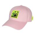 BOX K.W LOGO STRAPBACK CAP (PINK/MSS203210PNK)