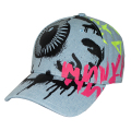 GRAFFITI K.W STRAPBACK CAP (L.INDIGO/MSS203214)
