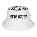 KEEP WATCH BUCKET HAT (WHITE/MSS203221WHT)