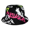 GRAFFITI BUCKET HAT (BLACK/MSS203225)